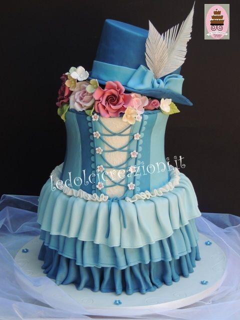Corset Cake - www.ledolcicreazioni.it cake Pinterest ...