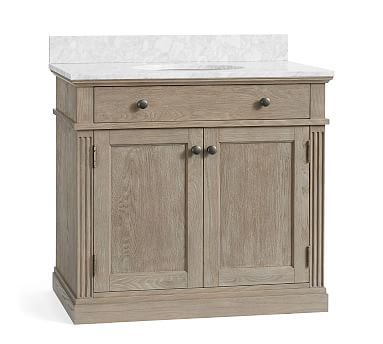 Livingston Vanity #potterybarn