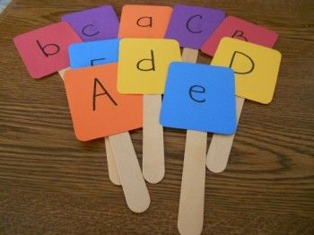 Literacy Matching Game and Preschool Lesson Plan