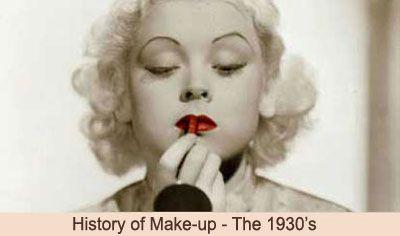 Maquillage des ann es 1930 ann es 30 and maquillage on pinterest - Maquillage annee 30 ...
