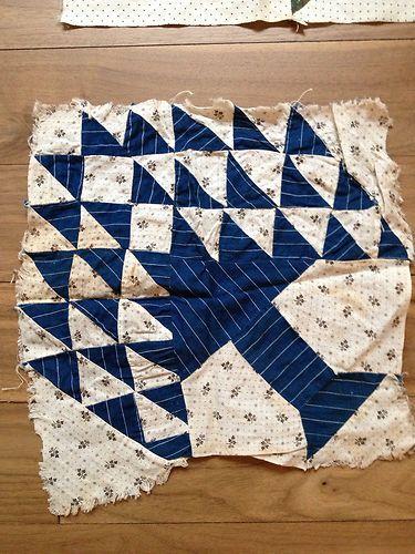 Lot of 7 Antique Vintage Quilt Squares Blocks Tree of Life Etc | eBay, flakewasnington