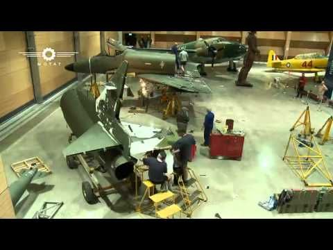 Skyhawk Re-assembly at MOTAT