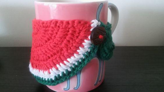 Watermelon Mug Cozy