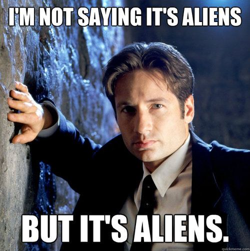 I LOVE the X-Files.....I always feel like everyone has forgotten about it because of shows like Doctor Who (even though I do love Doctor Who as well) and Sherlock until now....The X-Files is a classic and I love it so much!