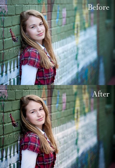 how to clear the photos on photoshop
