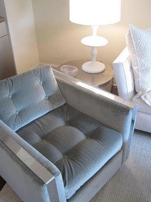 Elizabeth Sullivan's eBay chair revamp - go check out the before (gasp!)