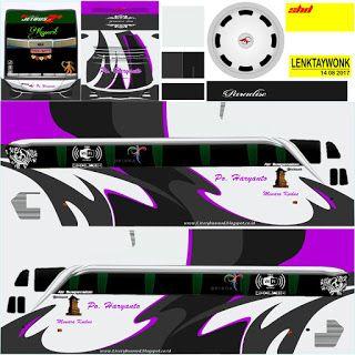Livery Bussid Haryanto Stiker Mobil Mobil Modifikasi Seni Jalanan 3d
