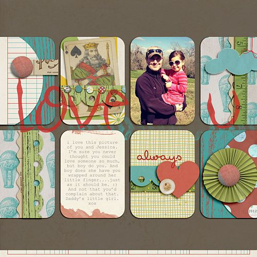 Layout by Lauren. Supplies: Paper-Lovin' Vol. 1 Templates by Nettio Designs; Wesley by The Ardent Sparrow; Perky Alpha by lauren Reid.