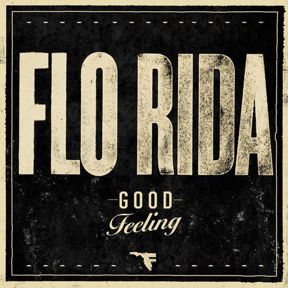 Flo Rida, Etta James – Good Feeling (single cover art)