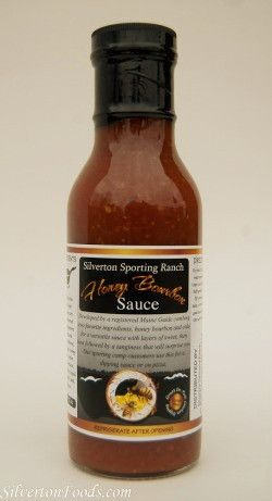 Not into hot and spicy? This is the sauce for you! Honey Bourbon Sauce is not overly sweet, a little heat from our Hot Sauce #3, and a nice mesquite smoke flavor. Not only is it great on pork, use it