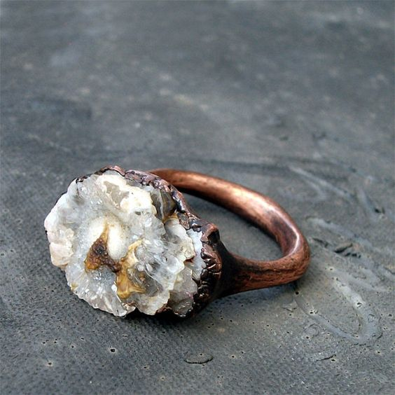 gorgeous ring from MidwestAlchemy @etsy