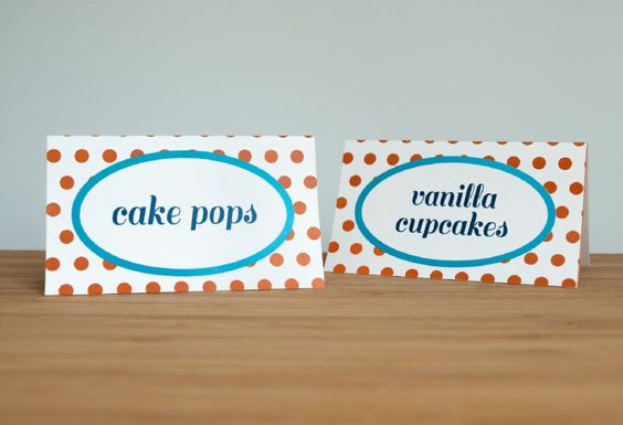 Clownfish Tent Cards