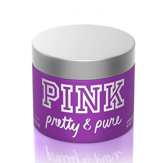 Victoria's Secret New! Pretty & Pure Luminous Body Butter ($15) ❤ liked on Polyvore