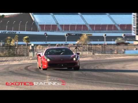 In las vegas racing and ferrari 458 on pinterest for Las vegas motor speedway driving experience