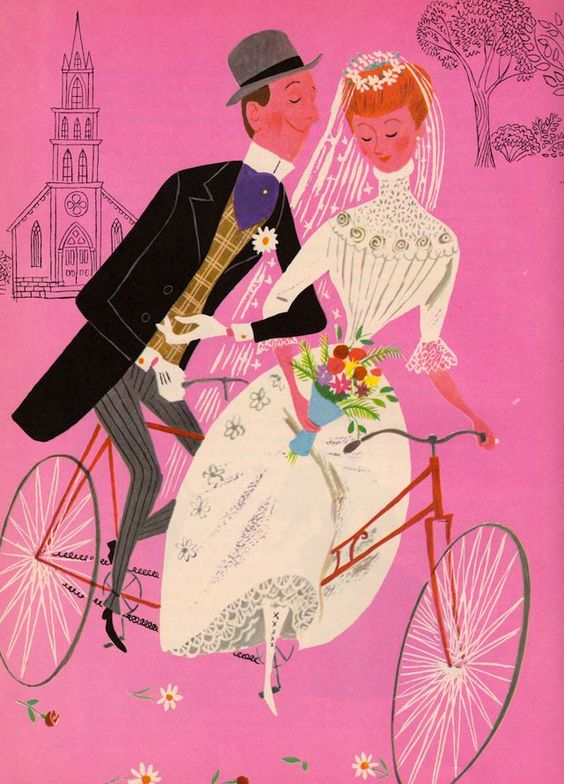 Aurelius Battaglia —   Bicycle Built for Two    (640×890)