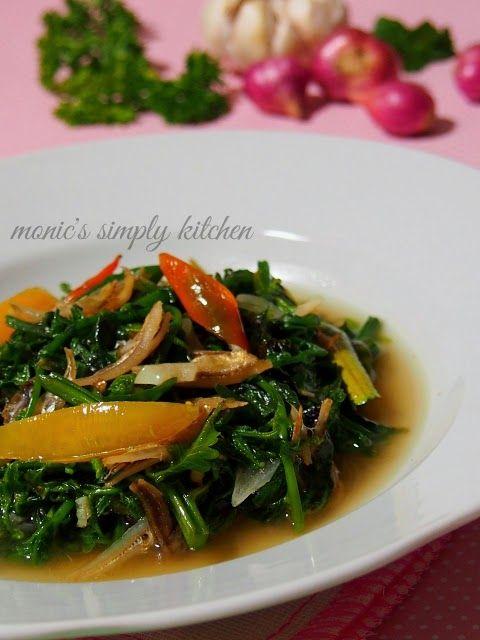 Resep Mudah Tumis Pakis Teri Tumis Masakan Makanan Dan Minuman