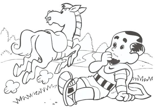 Saul Paul On The Road To Damascus Acts 9 Sunday Paul On The Road To Damascus Coloring Page