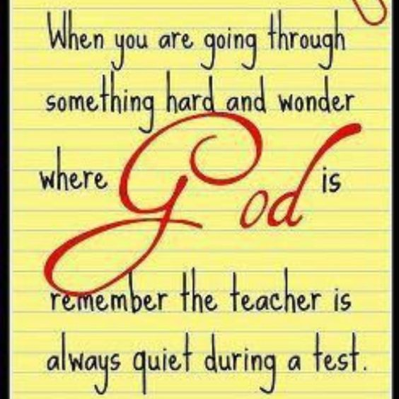 :-) God is Great!: Remember This, God S, God Is, Hard Times, Testing 101, Inspirational Quotes, So True, Quotes Sayings, Favorite Quotes