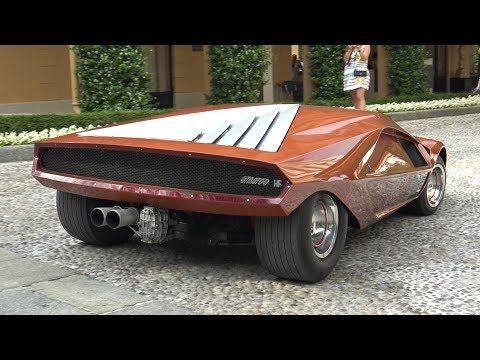 48 1970 Lancia Stratos Hf Zero Concept Start Up Sound Driving