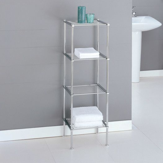 "OIA Metro 13"" x 41.13"" Bathroom Shelf"