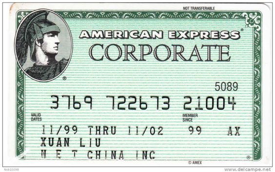 American Express cards GG12