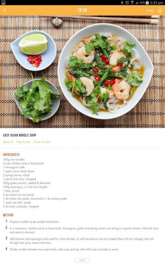 Asian Noodle Soup Easy Asian Noodles Healthy Diet Recipes
