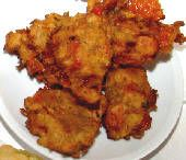Tomato Fritters - Greek food photos