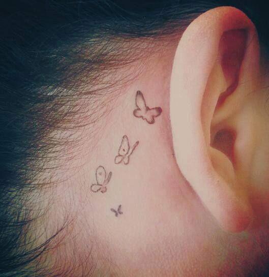 butterflies tatoo papallona=canvi, renaixement