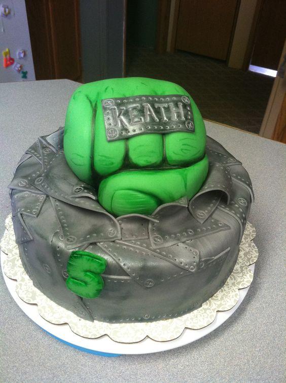 Cake Design Hulk : Professional Incredible Hulk Fist Cake Share cakes ...