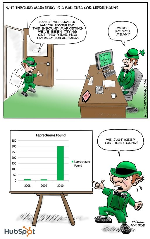 Why Inbound Marketing Is a Bad Idea for Leprechauns