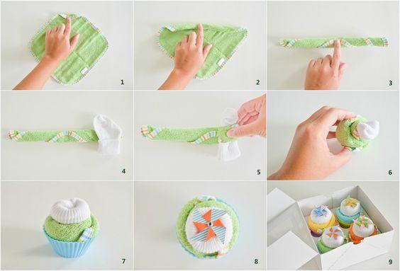 Schritte zum Basteln von originellen Babygeschenken zur Geburt