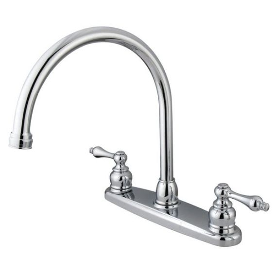 Vintage Chrome Kitchen Faucet - Overstock™ Shopping - Great Deals on Kitchen Faucets