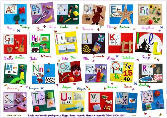 La rencontre avec les lettres de l'alphabet est progressive dans un premier temps. Certains élèves les connaissent déjà mais une majorité d'entre eux vivent leur premier rendez-vous avec elles. Pou...
