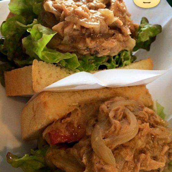 レシピとお料理がひらめくSnapDish - 32件のもぐもぐ - Tuna basil sandwich by Nigel Nakada