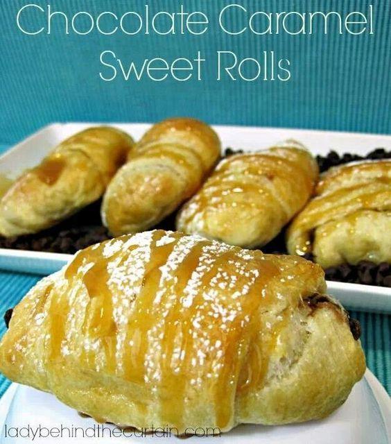 Chic/caramel rolls