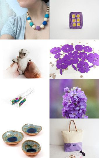 lilac collection by Rita L-Broka on Etsy--Pinned with TreasuryPin.com