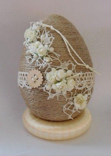 Piekne Jajko Pisanka Ozdoby Wielkanocne Rekodzielo 7853467682 Allegro Pl Easter Egg Crafts Easter Egg Designs Diy Christmas Ornaments Easy