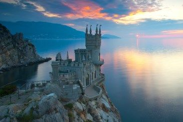 Travle Inspiration: The Swallow's Nest, Yalta, Ukraine I would love to see