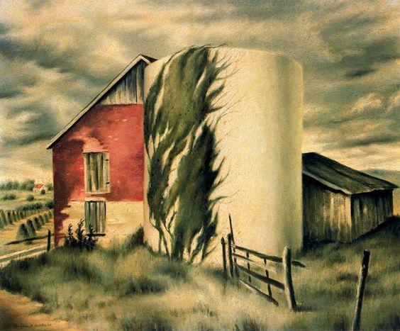 Clarence Holbrook Carter | Clarence Holbrook Carter 1904-2000 | American Symbolist painter