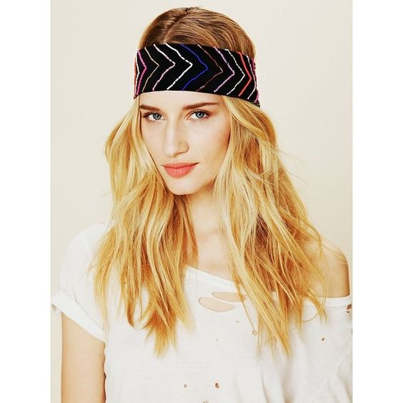 Seedbeed Detail Headband found on Polyvore