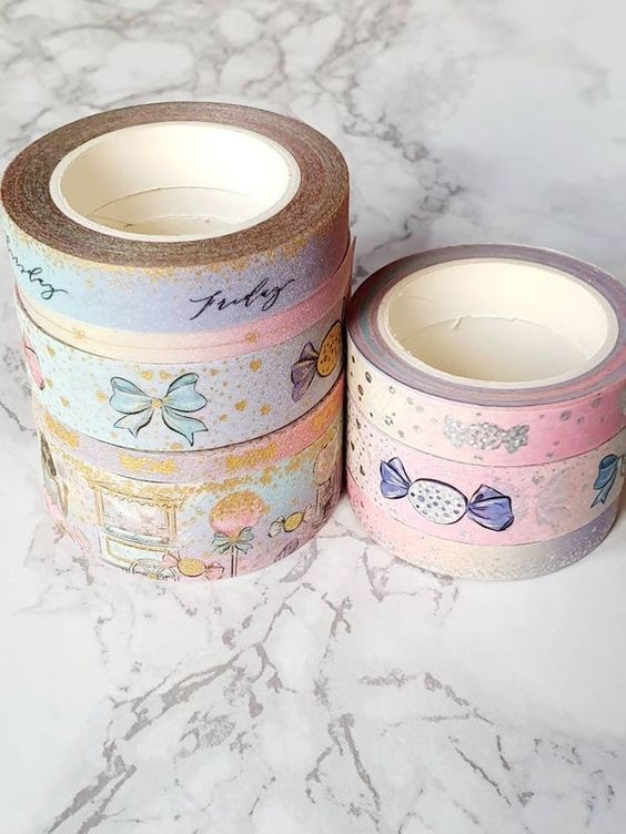 Bloomsical Washi Sample Set Apple Collection