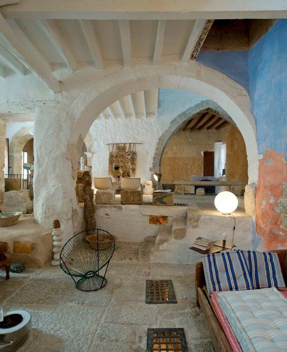 Interieur du0027une maison à Majorque par Can Monroig #renovation