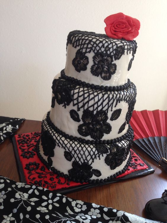 Flamenco Cake Design