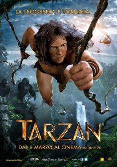 Tarzan 3D, dal 6 marzo al cinema.