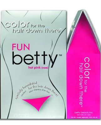 "Betty Beauty Pubic Hair Dye ""Hot Pink / Rose""LMAO SO I CAN GET THE CAROET TO MATCH THE DRAPES"