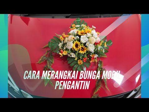Diy Wedding Car Flower Cara Membuat Bunga Untuk Mobil Pengantin Youtube Mobil Pernikahan Pengantin Bunga