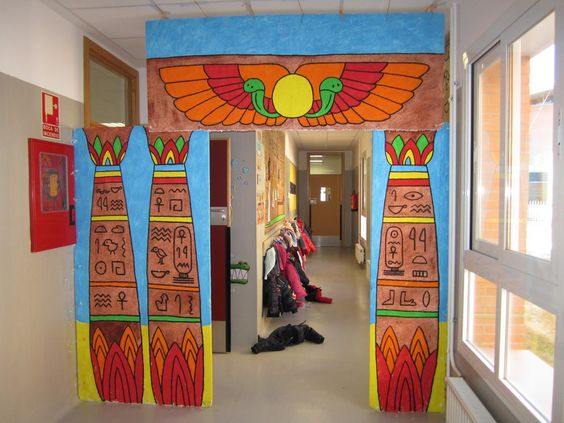 Decoracion Egipcia Antigua ~ TRABAJAR POR PROYECTOS EN EDUCACI?N INFANTIL  Decoraci?n aulas