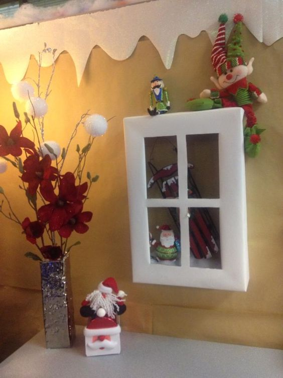 Decorating Ideas > We Are Having A Cubical Decorating Contest At Work  ~ 063339_Christmas Decorating Ideas Work