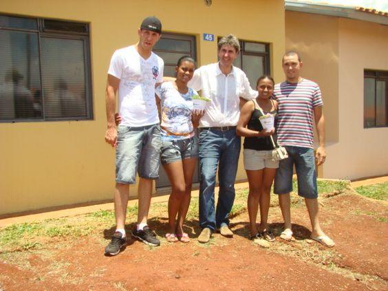 Entrega de 52 casas Parque Ferreira Dias - Jahu