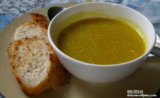 DIY Recipe: Easy Squash Soup